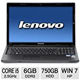 Lenovo Essential 15.6″ Core i5 750GB HDD Notebook