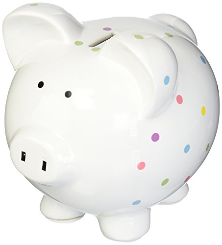 Child to Cherish Large Confetti Pig Bank, Multi - 1