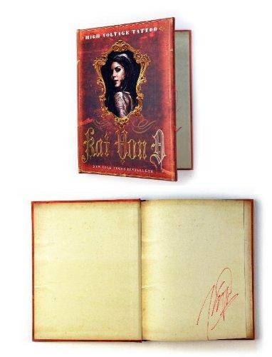 "Kat Von D - Tatoo Artist - Autographed ""High Voltage"" Collectors Edition"