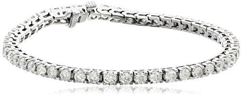 IGI-Certified-14k-White-Gold-4-Prong-Diamond-Tennis-Bracelet-5cttw-H-I-Color-I1-Clarity-7