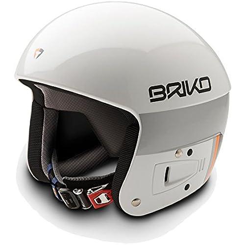 [해외] BRIKO FIS6.8 레이싱 스키 헬멧 2016-2017W SH0001-16 W002(WHITE)- (SIZE:58CM)