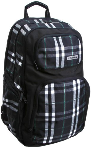O'neill Men's Okemo Backpack Bags And Accessories Black Aop W/Green 154028-9960-0