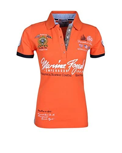 Geographical Norway Poloshirt Kipawaldy orange