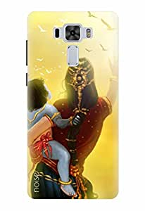 Noise Designer Printed Case / Cover for Asus ZenFone 3 Laser ZC551KL with 5.5 inch screen size / Festivals & Occasions / Krishna Design