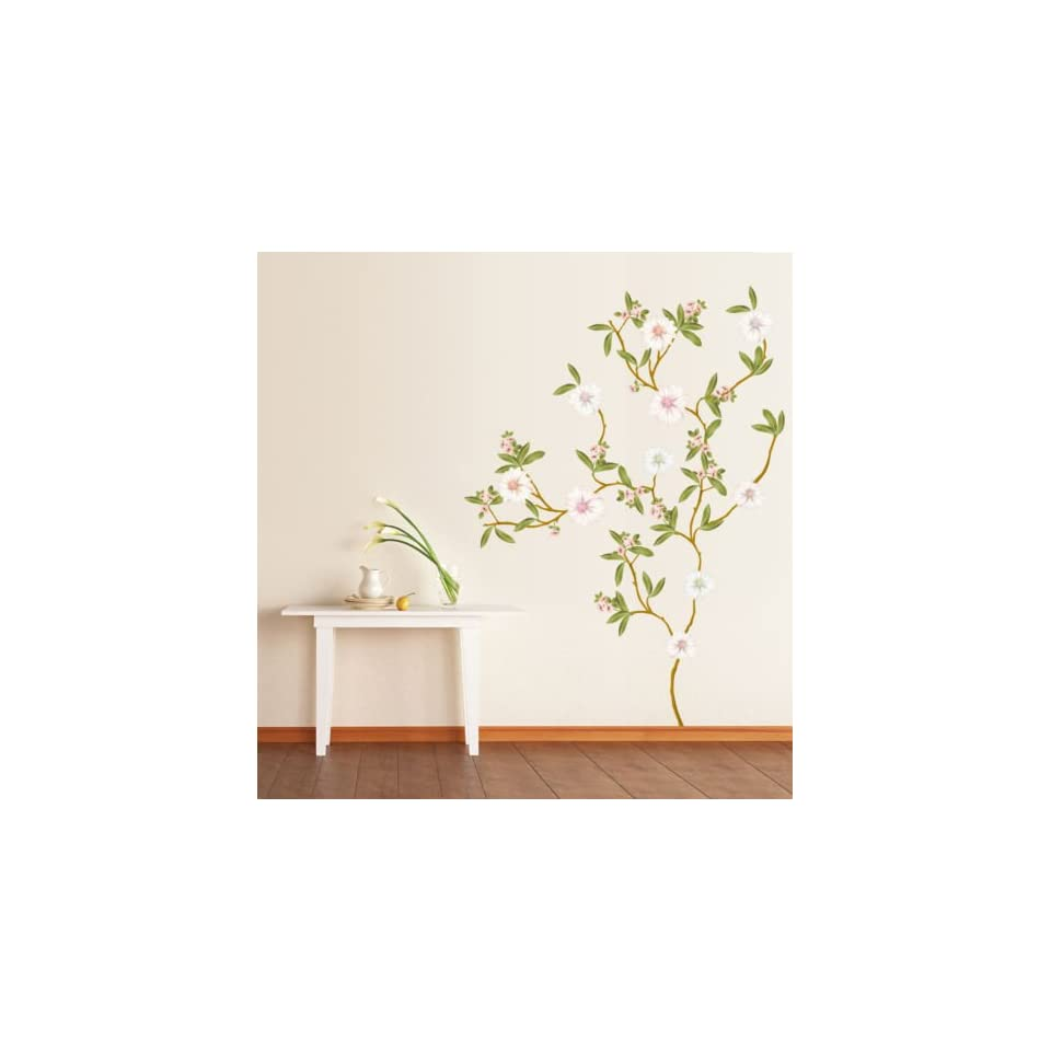 (20x28) Blossoming Flowers Repositional Wall Decal