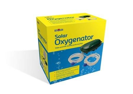 Bermuda Solar Powered Pond Oxygenator