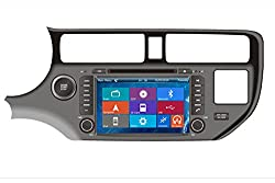 See Crusade Car DVD Player for Kia Rio 2012 2013 2014 Suits for KIA K3 2012- Kia All New Pride 2012- Kia All New Rio (Indonesia) 2012- Support 3g,1080p,iphone 6s/5s,external Mic,usb/sd/gps/fm/am Radio 8 Inch Hd Touch Screen Stereo Navigation System+ Reverse C Details