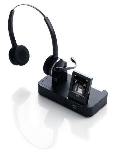 Jabra Pro 9465 Duo Noise Cancelling Wireless Headset - Black