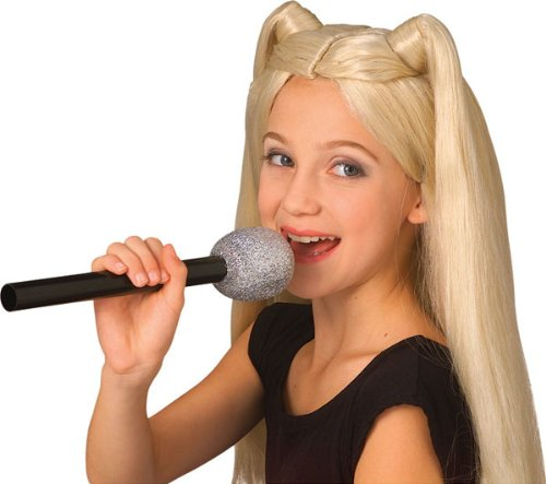 Rubie's Costume Co Glitter Microphone Costume (Direct Microphone compare prices)