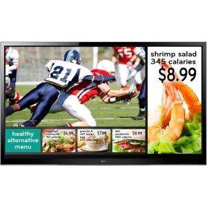 LG EzSign TV 55LS460E Digital Signage Display. 55IN EZSIGN LED TV 1920X1080 55LS460E HDMI TAA COMPLIANT FULL HD. 55
