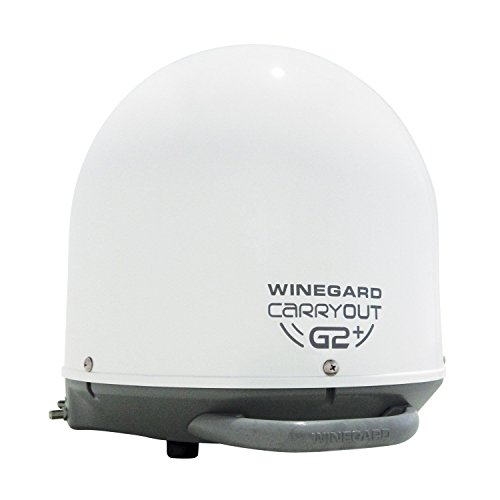 Winegard GM-6000 Carryout G2+ White Automatic Portable Satellite TV Antenna with Power Inserter (Rv Cable Tv Outlet compare prices)