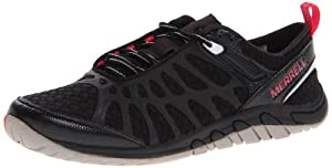 Merrell Women's Crush Glove Minimalist Cross-Training Shoe,Black,7.5 M US