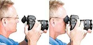 Hoodman Square Eye Piece For Nikon D-SLR Cameras For Eyeglasses Shooters