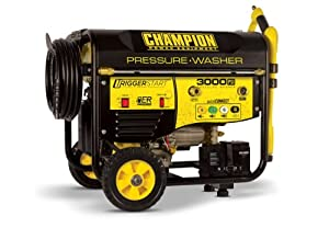 Champion Power Equipment No.76522 Trigger Start 3000PSI Portable Gas Powered Pressure Washer, CARB Compliant (Discontinued by Manufacturer)