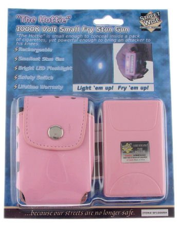 Hottie Small Fry 1000000 Volt Mini Stun Gun Rechargeable