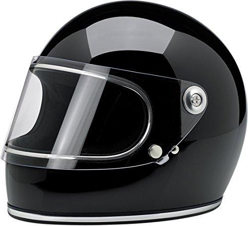 Biltwell Inc. Gringo S Solid Helmet Gloss Black Large L GS-BLK-GL-LG