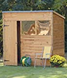 Forest 7X5 Shiplap Pent Shed