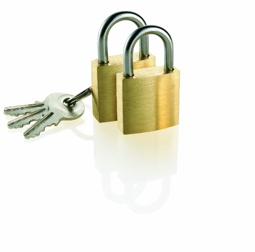 travel-smart-by-conair-brass-luggage-padlock-2-pack