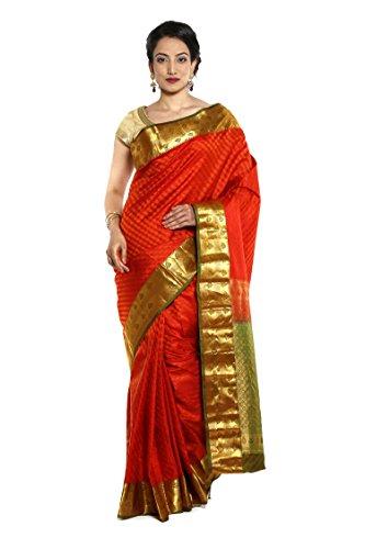 Women Kanjivaram pure Silk Sarees