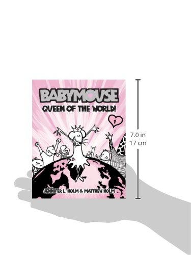 Queen of the World! (Babymouse (Paperback))