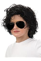 Michael Jackson Curly Wig Accessory (Child)