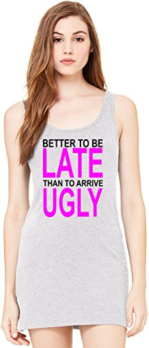better-to-be-late-slogan-bella-basic-armellose-tunika-sleeveless-tunic-tank-dress-for-women-100-prem