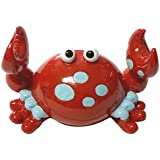Red Bobble Claw Crab Coin Bank