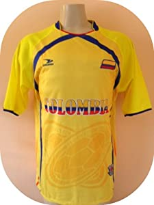 Buy COLOMBIA SOCCER JERSEY SIZE LARGE .NEW by DRAKO INC