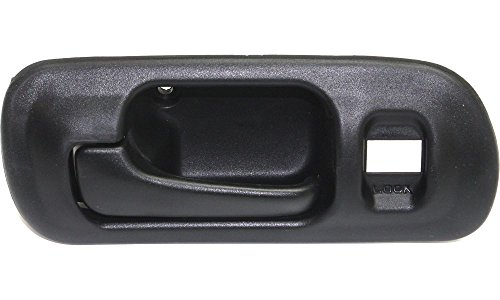 Evan-Fischer EVA18772041808 New Direct Fit Interior Door Handle for CIVIC 96-00 FRONT LH Inside Black w/o Hole Sedan DX/EX/GX/LX models (2000 Honda Civic Ex Door Handle compare prices)