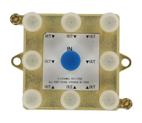 2Ghz Passive Video Splitter, 4, 6, or 8 Way, 47690-G