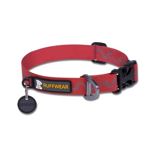 Ruffwear Headwater Collar, Medium, Red Currant