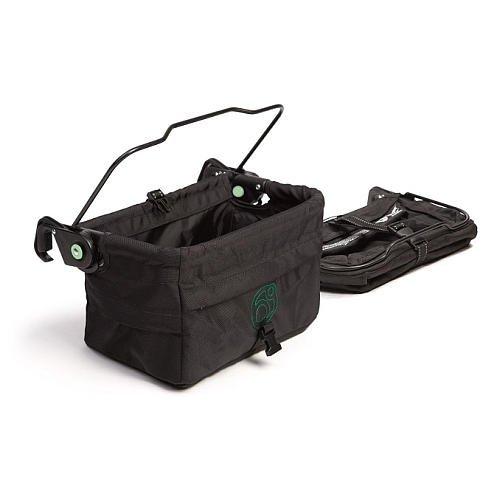 Orbit Baby G2 Stroller Side Storage Panniers Black front-943025