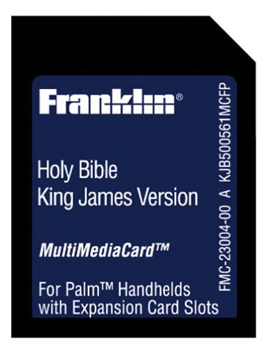 Franklin Kjb-500561Mcfp King James Holy Bible Mmc