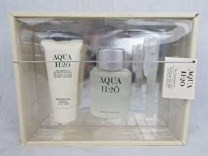 Aqua H2o 3pc Gift Set Impression of Acqua Di Gio By Giorgio Armanni