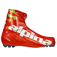 Buy Alpina ECL Elite Series Cross-Country Nordic Classic Ski Boots by Alpina