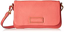 Marc by Marc Jacobs Too Hot To Handle Flap Percy Cross Body, Rose Bush, One Size