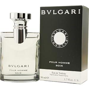 BVLGARI POUR HOMME SOIR by Bvlgari Eau de Toilette 50ml pour Homme