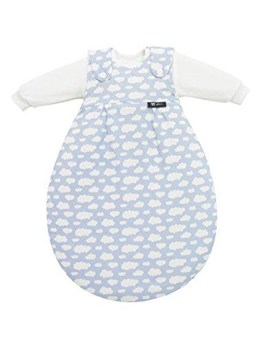 Alvi Baby Mäxchen Außensack Wolke blau 653-1, Größe:56/62