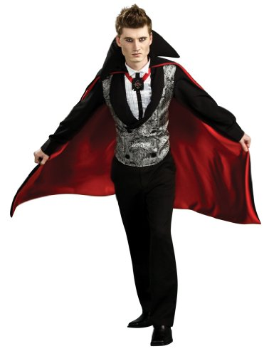 Nightfall Vampire Dracula Vest & Cape Costume
