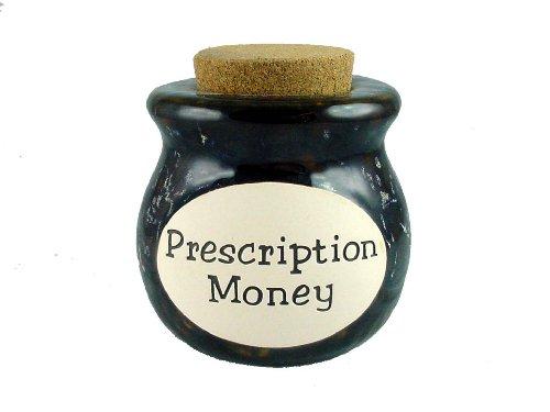 Prescription Money - Novelty Jar - Gift Bank