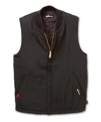 Workrite Flame Resistant 4.5 oz Nomex IIIA Insulated Vest/Liner, 2X-Large, Regular Length, Black