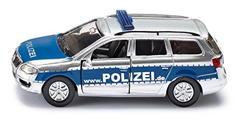 Siku Police Patrol Car Miniature Replica Toy Model Emergency Cop Vehicle - 1