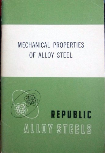 Mechanical Properties of Alloy Steel (Republic Steel compare prices)