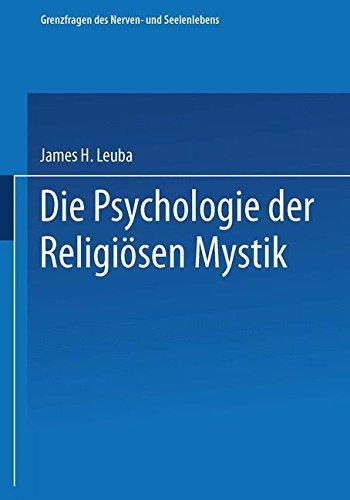 Die Psychologie Der Religiösen Mystik