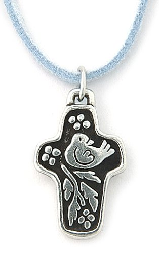 18 Inch Pewter You Are ValuedCross Pendant