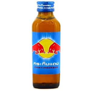 Energy Drink Red Bull or Kratingdaeng From Thailand Original 150ml. Pack of 6