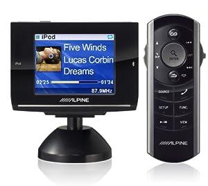 Alpine eX-10 - Bluetooth hands-free car kit / iPod interface adapter w/built-in FM modulator