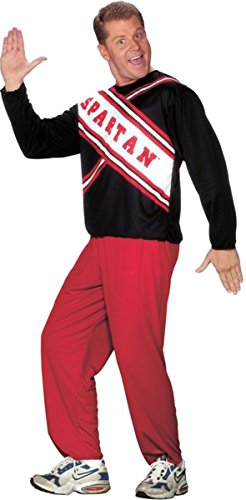 Morris Costumes Men's CHEERLEADER SPARTAN GUY, Plus size 48-52
