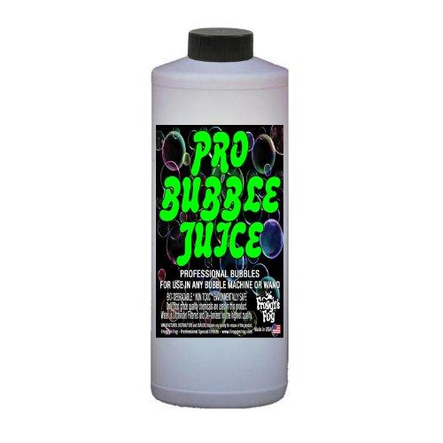 Froggys Fog – Pro Bubble Juice – Professional Bubble Fluid for All Bubble Machines and Bubblers – 1 Quart