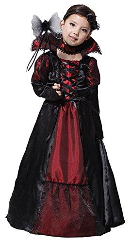 Biwinky-Kids-Girls-Gothic-Vampiress-Costume-Halloween-Cosplay-Clothing